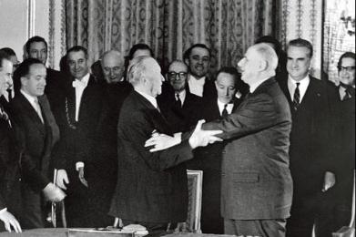 GERMANY-FRANCE-DIPLOMACY-HISTORY-RECONCILIATION-ELYSEE TREATY-50YRS-FILES